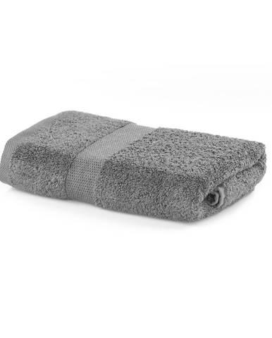 Sivý uterák DecoKing Marina, 50 × 100 cm