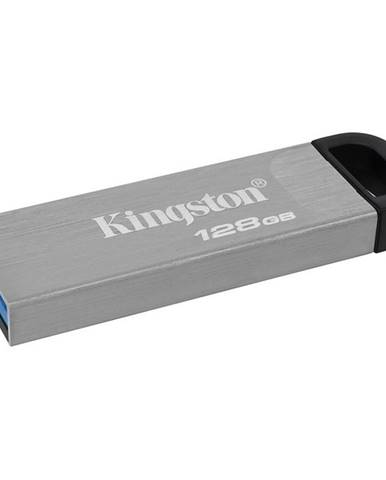 USB flash disk Kingston DataTraveler Kyson 128GB strieborný