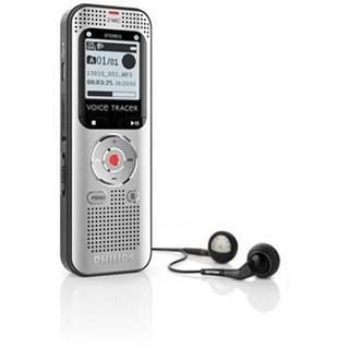 Diktafón Philips DVT2000 čierny/sivý