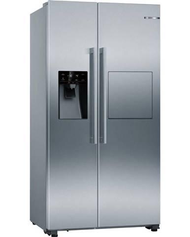 Americká chladnička Bosch Serie   6 Kag93aiep nerez