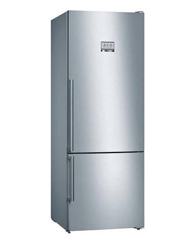 Kombinácia chladničky s mrazničkou Bosch Serie   8 Kgf56pidp nerez