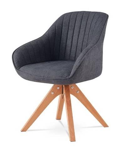 Jedálenská stolička CHIP I tmavosivá/buk