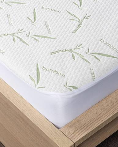 4home Bamboo Chránič matraca s lemom, 90 x 200 cm