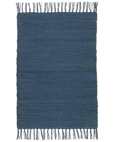 Plátaný Koberec Julia 2, 70/130cm, Tm. Modrá
