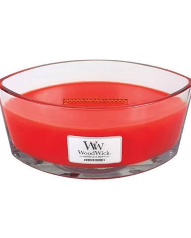 Vonná sviečka WoodWick Červená jarabina, 30 hodín horenia