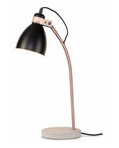 Čierna stolová lampa Citylights Denver