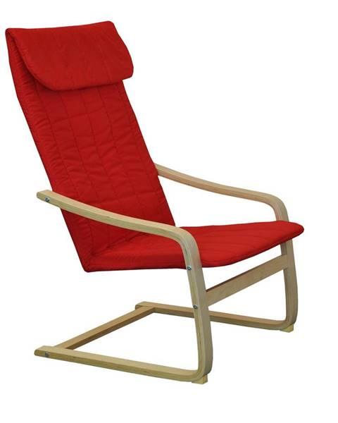 IDEA Nábytok Kreslo LISA červené K51