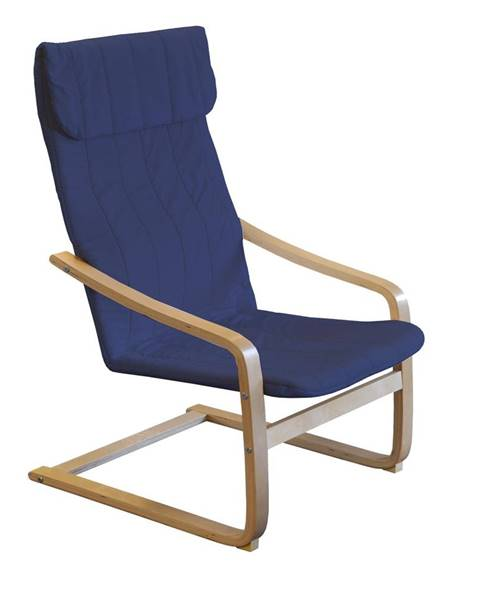 IDEA Nábytok Kreslo LISA modré K52