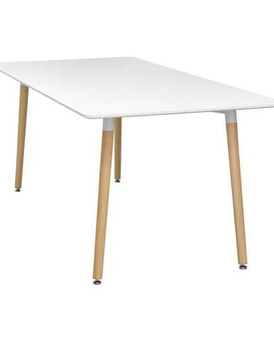 Jedálenský stôl 160x90 UNO biely