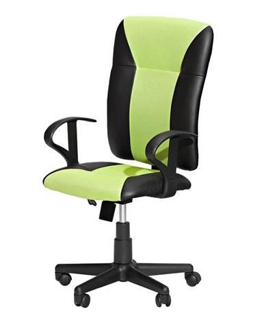 Kancelárske kreslo KING zelené K86