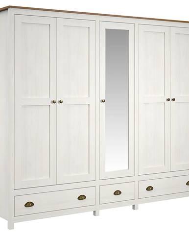 Skriňa 5-dverová TOPAZIO