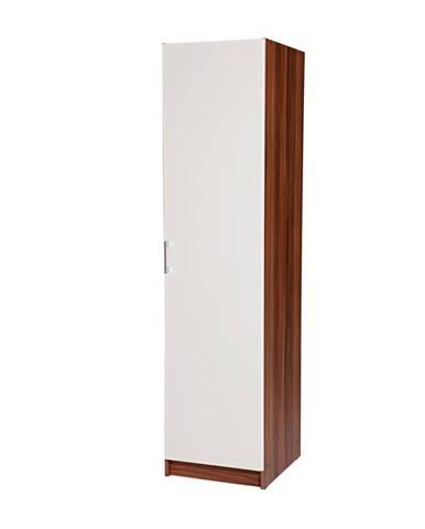 Skriňa ESO 1-dverová 61510 orech/biela