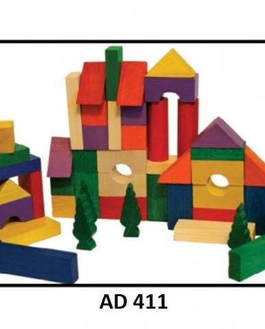 Drewmax Drevené kocky pre deti