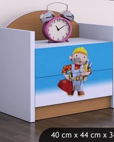 Happy Babies Nočný stolík HAPPY/ 24 Bob staviteľ SZN01