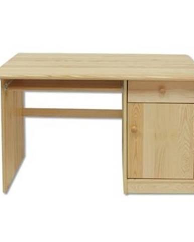 Písací stôl - masív BR109   borovica