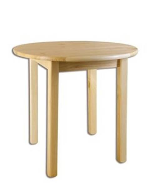 Drewmax Drewmax Stôl - masív ST105   50cm borovica
