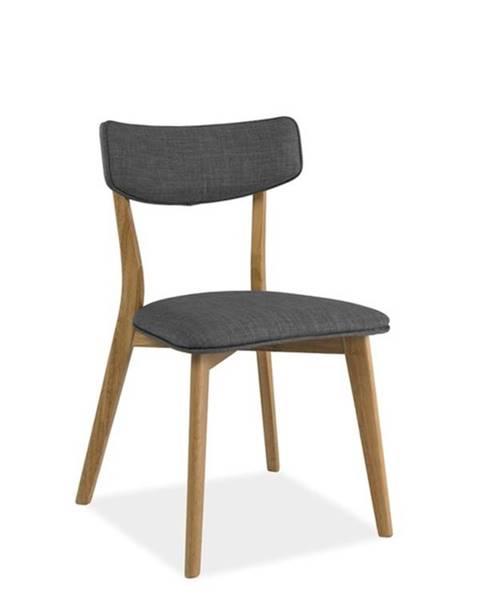 Signal Signal Jedálenská stolička KARL / sivá