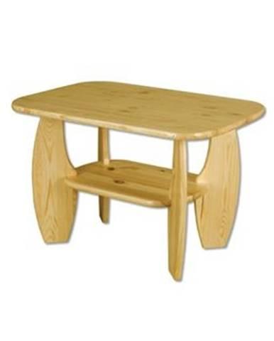 Drewmax Konferenčný stolík - masív ST114   borovica