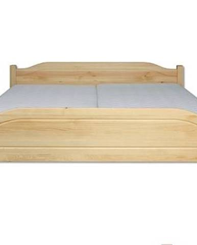 Manželská posteľ - masív LK101 | 120cm borovica
