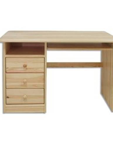 Písací stôl - masív BR103   borovica