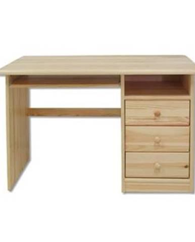 Písací stôl - masív BR106   borovica