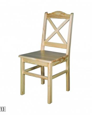 Drewmax Jedálenská stolička - masív KT113 / borovica