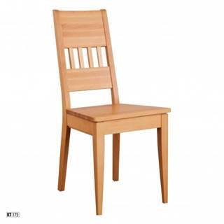 Drewmax Jedálenská stolička - masív KT175 / buk