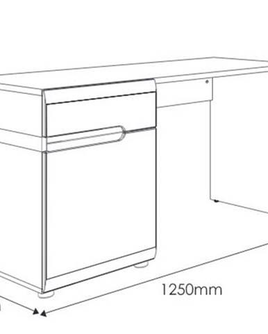 PC stolík Typ 80 Linate
