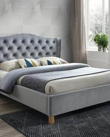 Signal Manželská posteľ ASPEN VELVET 180x200 cm SIGNAL - spálňový nábytok