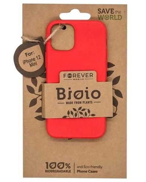 Forever Kryt na mobil Forever Bioio na Apple iPhone 12 mini červený
