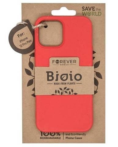 Kryt na mobil Forever Bioio na Apple iPhone 12 Pro Max červený