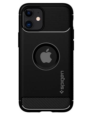 Kryt na mobil Spigen Rugged Armor na Apple iPhone 12 mini čierny