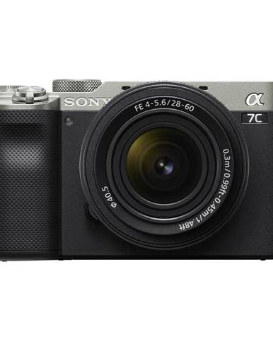 Digitálny fotoaparát Sony Alpha 7C + 28-60 strieborn