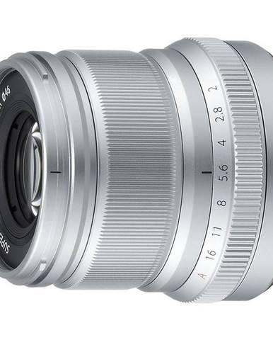 Objektív Fujifilm XF50 mm f/2.0 R WR strieborn