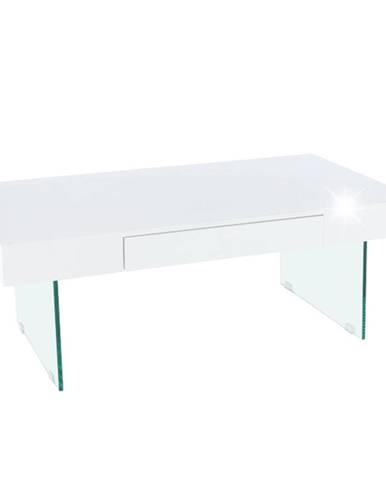 Konferenčný stolík biely extra vysoký lesk DAISY 2 NEW