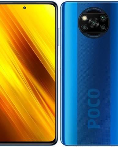 Mobilný telefón Poco X3 128 GB modrý