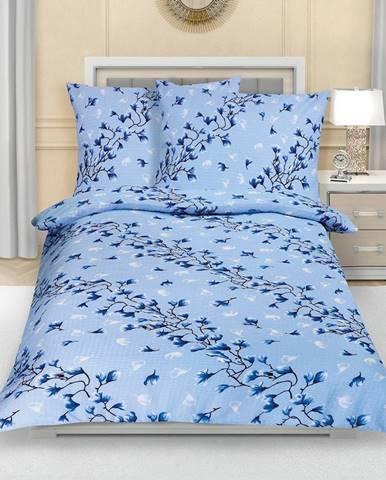 Bellatex Krepové obliečky Krík modrá