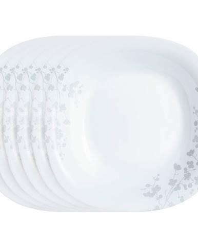 Luminarc Sada plytkých tanierov Ombrelle 27 cm, 6 ks, biela