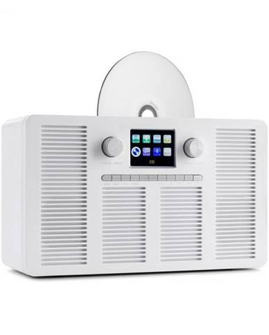 """Auna Vertico, internetové rádio s CD prehrávačom, IR/DAB+/FM, BT, 2,4"""", HCC, displej"""