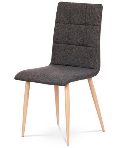 Jedálenská stolička IDA sivostrieborná/buk