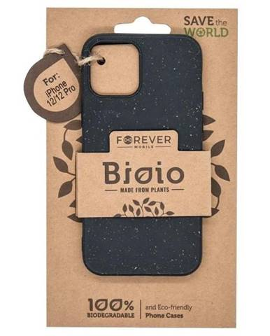 Kryt na mobil Forever Bioio na Apple iPhone 12/12 Pro čierny