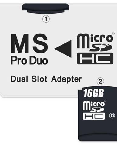 Čítačka pamäťových kariet Connect IT CI-1138, MS Pro Duo - 2x