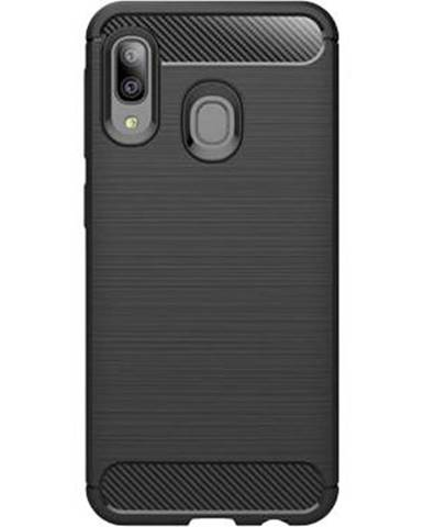 Kryt na mobil WG Carbon na Samsung Galaxy A20e čierna