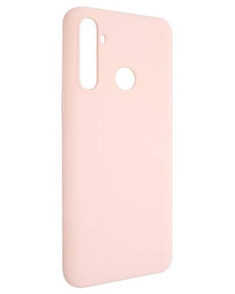 FIXED Kryt na mobil Fixed Story na Realme 6i/C3 ružový