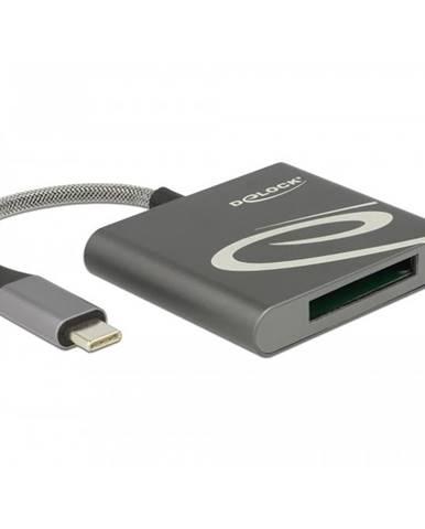 Čítačka pamäťových kariet DeLock USB-C/XQD 2.0