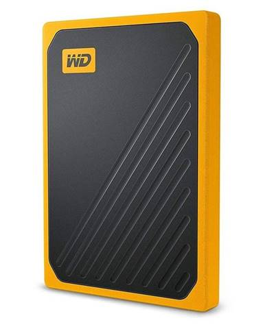 SSD externý Western Digital My Passport Go 2TB žltý