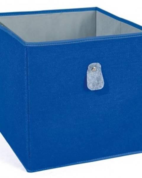 ASKO - NÁBYTOK Úložný box Widdy, modrý%