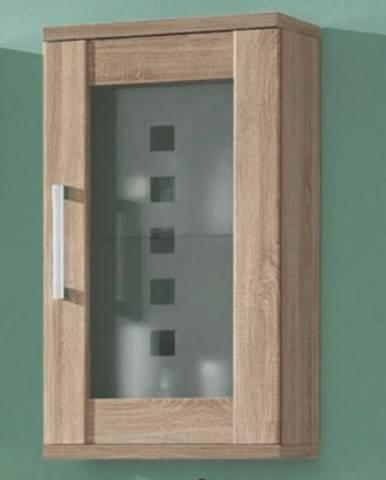 Kúpeľňová závesná skrinka Poseidon, dub Sonoma%