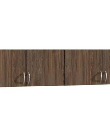 Skriňový nadstavec Case, 181 cm, dub stirling%
