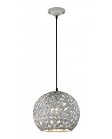 Stolná lampa Frieda 302200161, šedobiela%